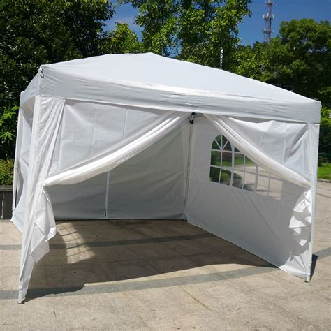 ez up gazebo 10 x10 ez pop up wedding tent folding gazebo canopy