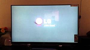 Second Lg 47 U0026quot  Lm760t Led Tv With Backlight Bleed