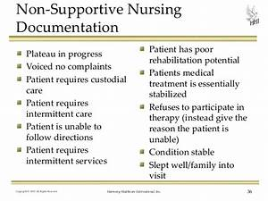 nursing documentation do your medical records support With home health nursing documentation