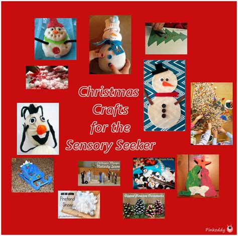 christmas crafts for the sensory seeker the sensory seeker