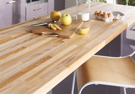 comment choisir un plan de travail cuisine un plan de travail en bois pour une cuisine authentique des plans de travail pour tous les