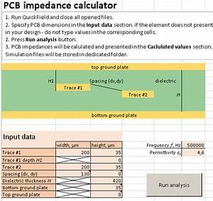 PCB impedance calculator --QuickField FEA Software