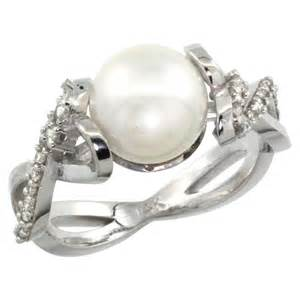 pearl engagement rings meaning pearl wedding rings classical and beautiful ipunya