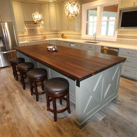 kitchen island top ideas 55 great ideas for kitchen islands the popular home 5181