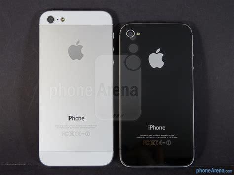 iphone 4s vs iphone 5s apple iphone 5 vs apple iphone 4s