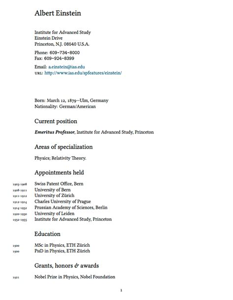 Copy Of Cv Template by Compact Academic Cv Resume Template Resume Templates