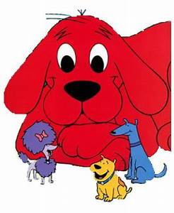 Clifford The Big Red Dog Clipart (47+)