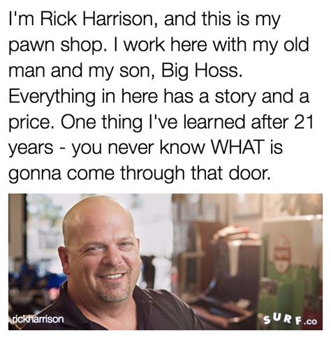 Pawn Shop Meme - i m rick harrison and this is my pawn shop know your meme