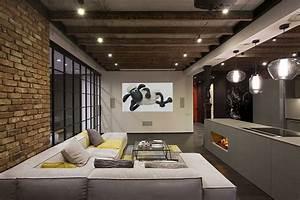 High-End Bachelor Pad Design: Stunning Loft in Kiev by