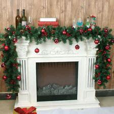 christmas fireplace decorations ebay
