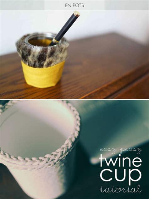 pot de yaourt recyclable crafts