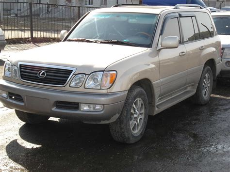 Used 2002 Lexus Lx470 Photos 4700cc Gasoline Automatic