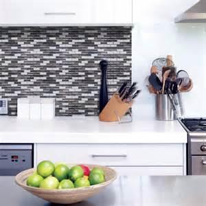 kitchen backsplash stick on murano metallik peel and stick tile backsplash shop smart tiles