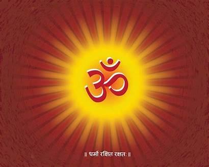 Om Aum Symbol Shanti Symbols Hindu Yoga