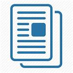 Icon Documentation Grey Icons Document Articles Paper