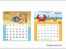 calendario julio agosto 2018 Aprilonthemarchco