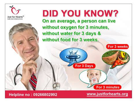 How Person Can Survive Without Oxygen, Water & Food?