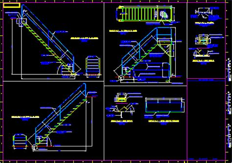 standard stair details dwg detail for autocad designs cad