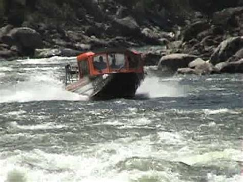Whitewater Jet Boat by Elk Horn Rapid Salmon River Idaho Whitewater Jetboats