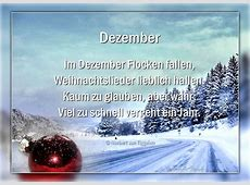 Dezember Im Dezember Flocken fallen, Weihnachtslieder