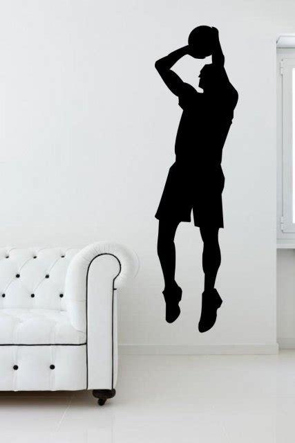 basketball player sport wall sticker wall stickers