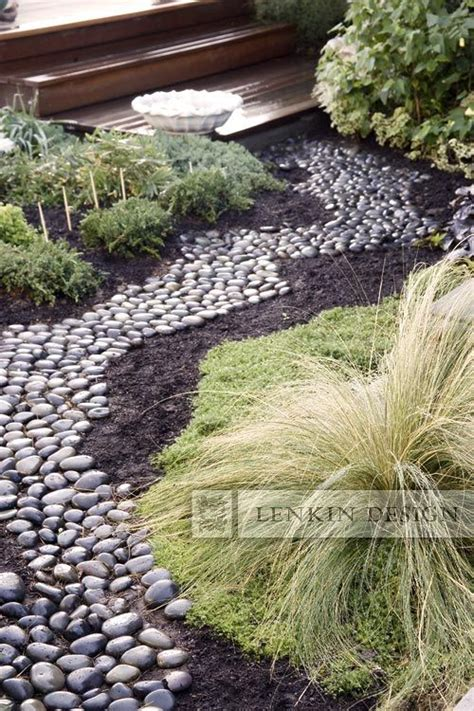 river rock pictures landscaping 120 best images about dry creek beds on pinterest gardens rivers and water retention