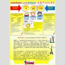 Gr  Indefinite And Definite Articles + Exercises + Key