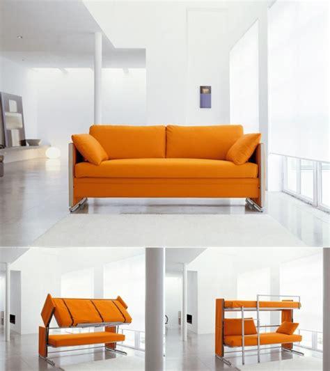 canap orange le meuble contemporain multifonctionnel et à petit prix