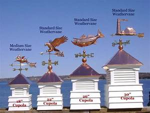 how to properly size weathervanes east coast With cupola sizing
