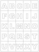 Auch enthalten im dokument sind die sonderzeichen:!. ABC-Karten zum Ausdrucken und Ausschneiden - Alphabet lernen