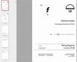 Electrical Wiring Diagrams For Man Tga