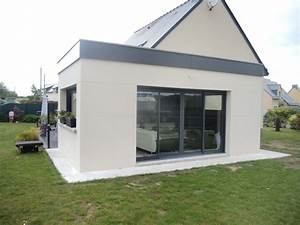 extension maison veranda prix 8 extension bois toit With extension maison veranda prix