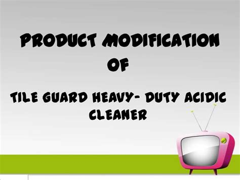Modification To Product by Product Modification