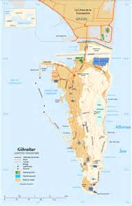 Gibraltar Map, Map of Gibraltar,Gibraltar Map in English Gibraltar