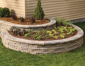 Garden, Edge, -, Ledgewall, -, Shaw, Brick, Concrete, Curved