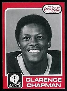 Clarence Chapman 1979 Coke Saints 8 Vintage Football