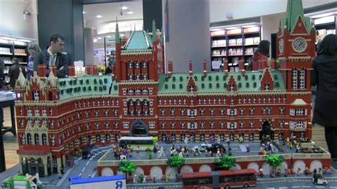 Lego St Pancras At Waterstones Piccadilly Youtube