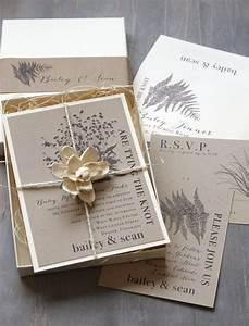eco stationary wedding invitations and more peaceful With wedding invitation box type
