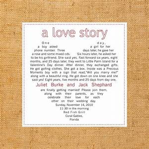 y loves a love story wedding invitation With wedding invitation wording love story