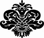 Stencil Damask Pattern - ClipArt Best