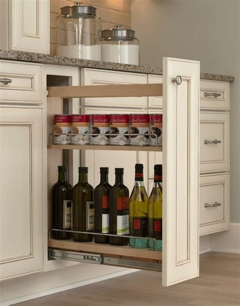 pull out inserts for kitchen cabinets hidden kitchen storage turn a filler panel into a pull