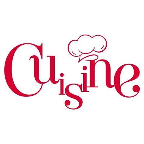 stickers de cuisine sticker mural quot cuisine et toque quot pour cuisine en vente
