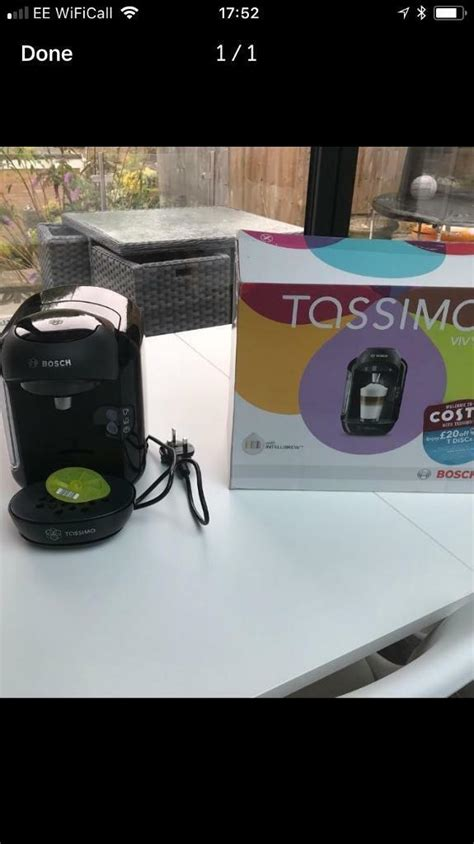 We drink a lot of coffee and so it can get expensive. Tassimo vivy coffee machine | in Bournemouth, Dorset | Gumtree