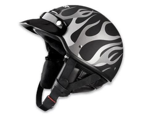 Raider Deluxe Motorcycle Half Helmet