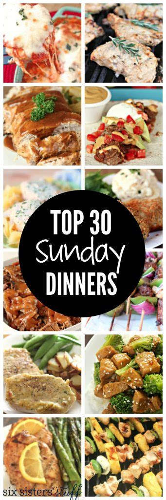 best dinner recipes best sunday dinner ideas 28 images the best beef stroganoff 52 sunday dinners deep south