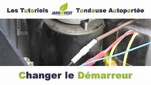 Changer Un Demarreur : tutoriel autoport e n 14 comment changer un d marreur de tracteur tondeuse autoport e youtube ~ Gottalentnigeria.com Avis de Voitures
