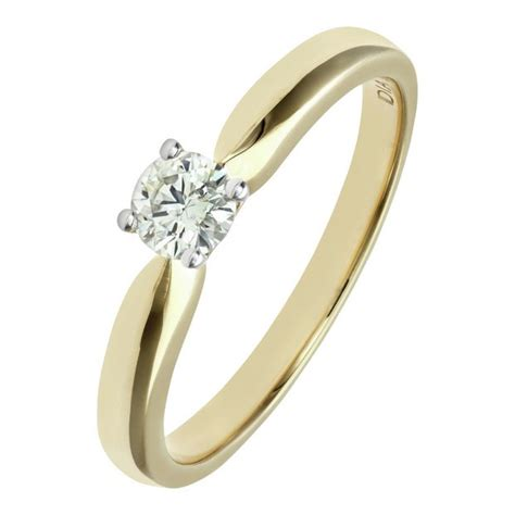 buy everlasting 9ct gold solitaire ring
