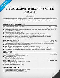 medical administration resume resumecompanioncom With medical resume builder