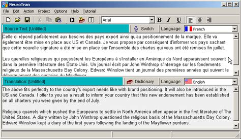 translation translate translator software french