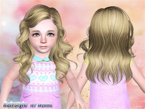 Skysims Hair Toddler 187